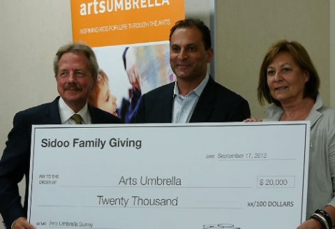 Donation to Arts Umbrella