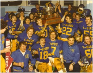 David Sidoo and the UBC Thunderbirds - 1982 Vanier Cup
